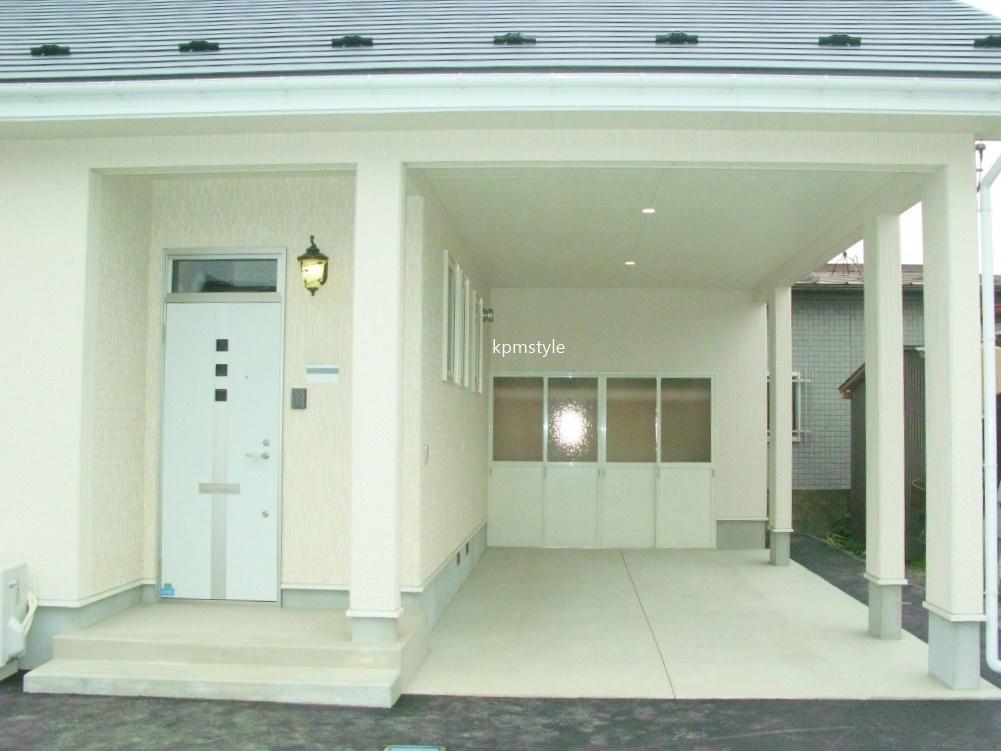 ロフトとガレージのある戸建てアパート (八戸市田向)3