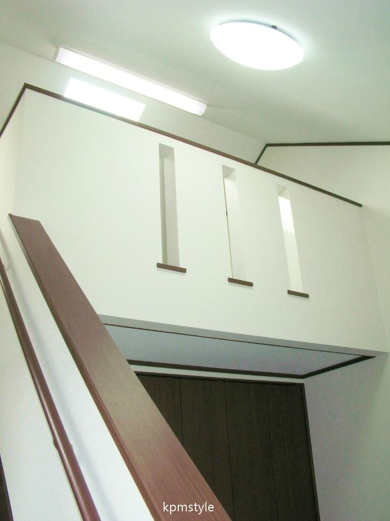 ロフト・サンルーム、そしてガレージのある戸建てアパート (八戸市田向)9
