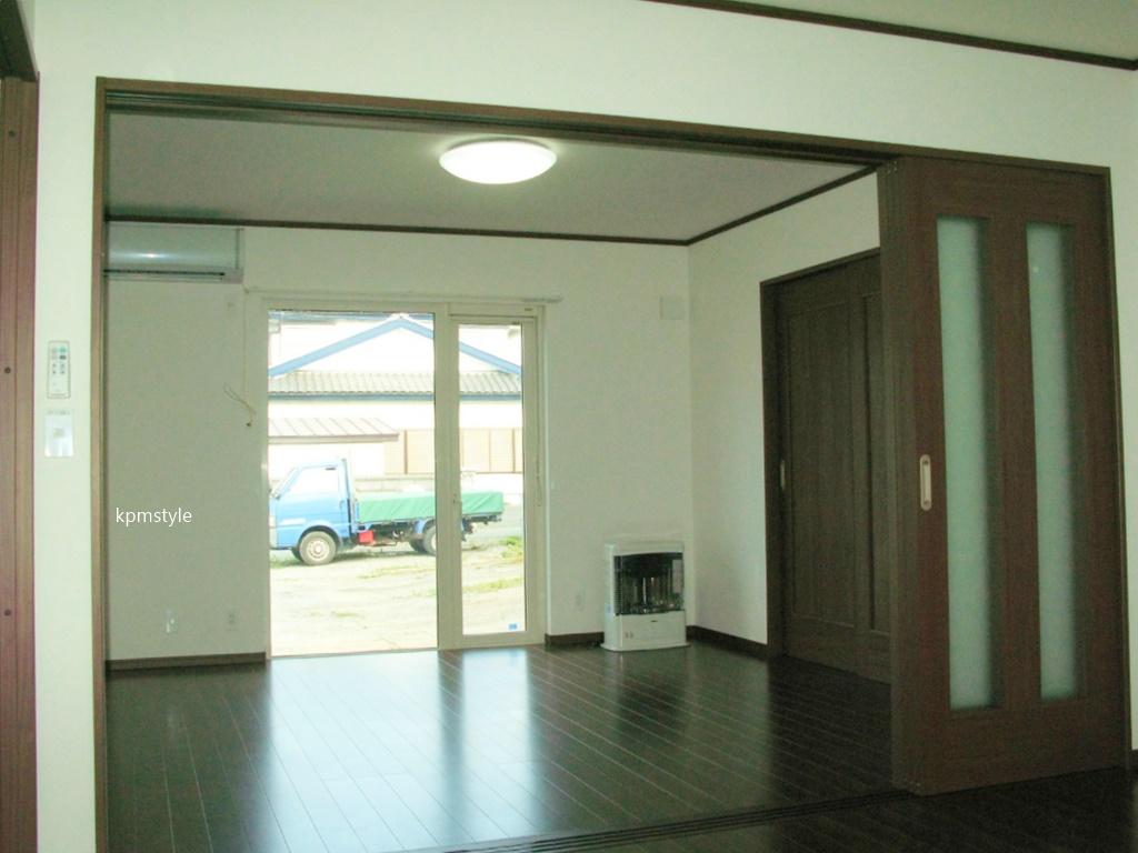 ロフト・サンルーム、そしてガレージのある戸建てアパート (八戸市田向)14