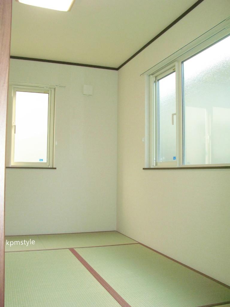 ロフト・サンルーム、そしてガレージのある戸建てアパート (八戸市田向)17