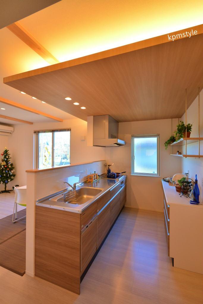 住宅地でもプライバシーを確保できるコートテラスの家 (八戸市長者)7