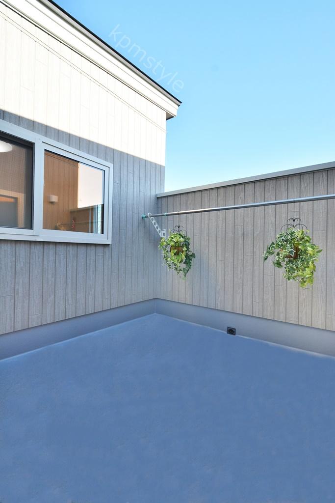 プライバシーを確保するコートテラスの家 (八戸市長者)18