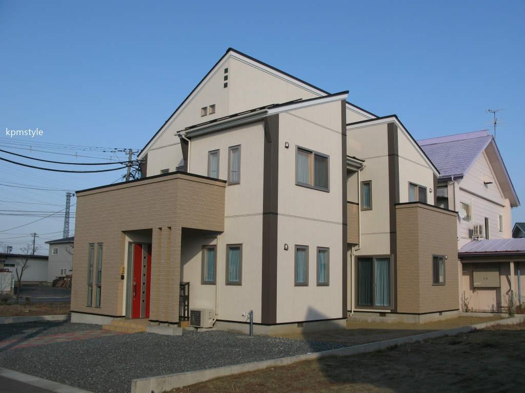 LDKから眺めるコートテラスのある家 (八戸市長苗代)