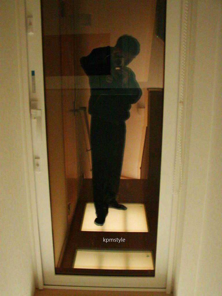 天窓と床ガラスが採光を考慮する家  (八戸市根城)20