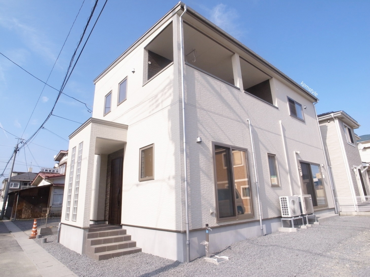 天井が高く開放的な家 (八戸市根城)