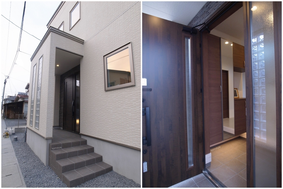 天井が高く開放的な家 (八戸市根城)2
