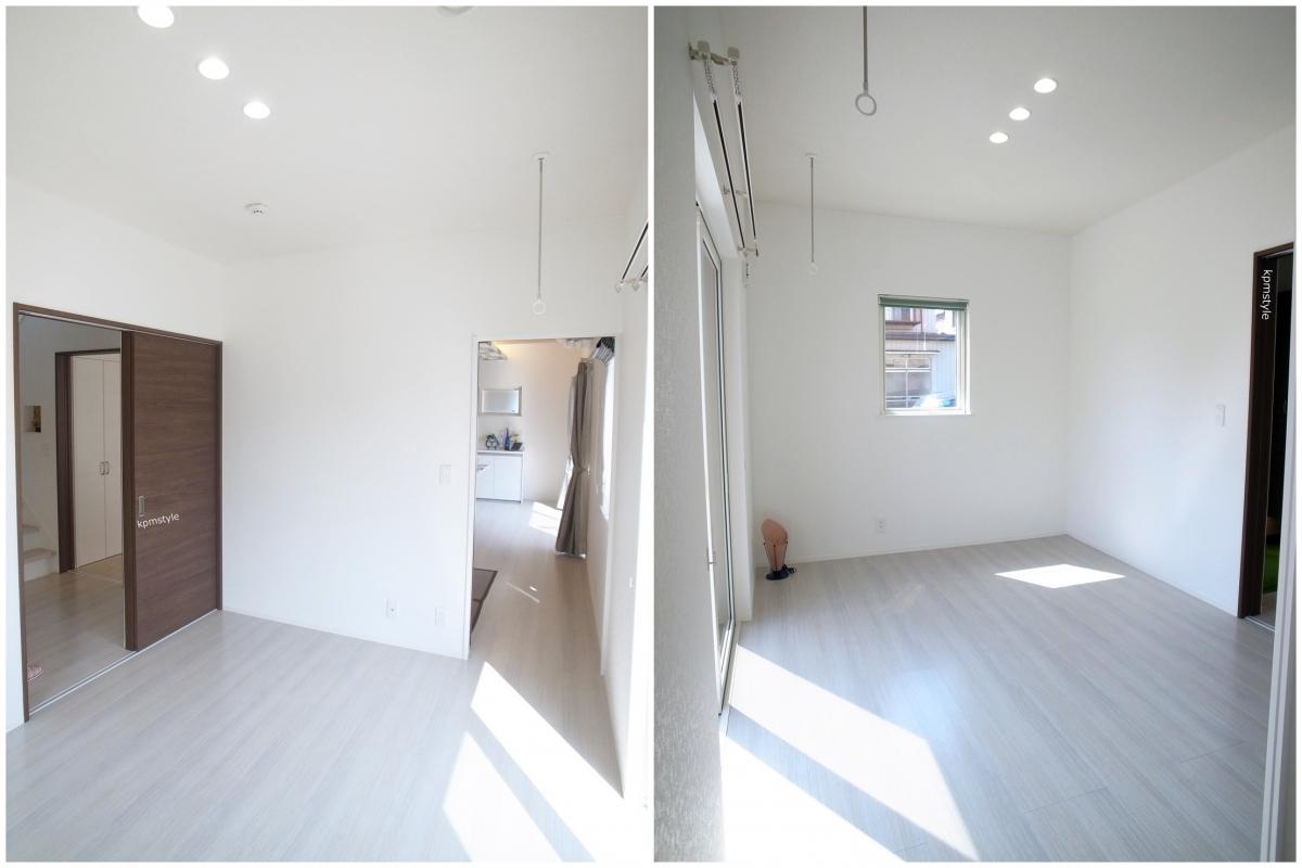 天井が高く開放的な家 (八戸市根城)4