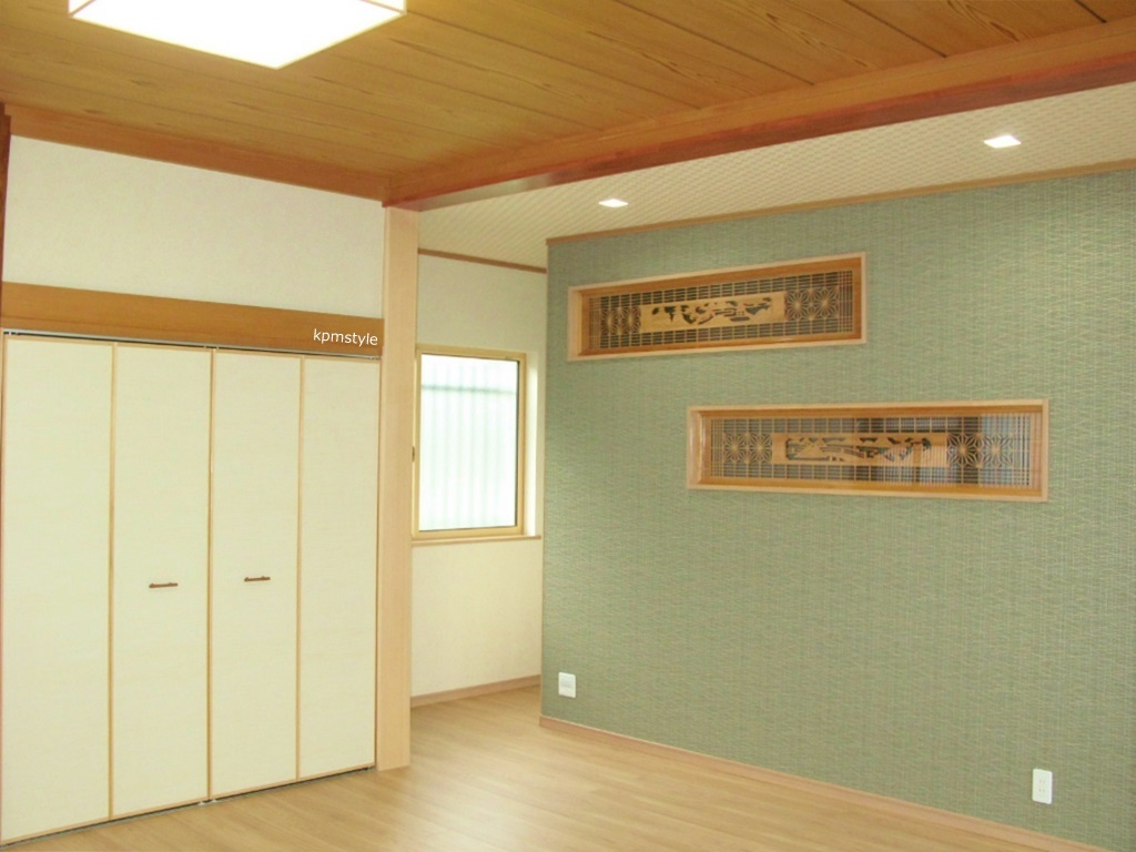 和室の続き間は、和のテイストを引き継いだモダンな空間へ (八戸市根城)5