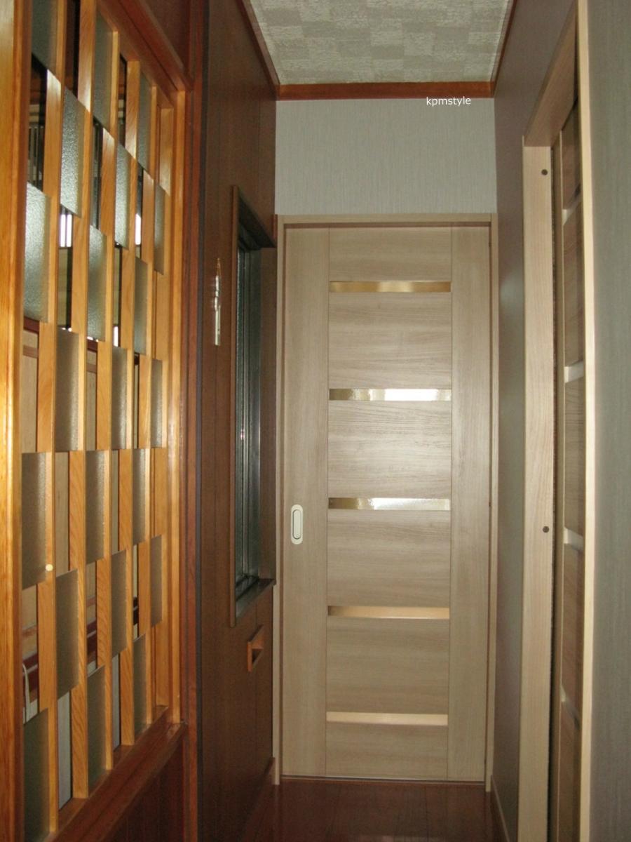 和室の続き間は、和のテイストを引き継いだモダンな空間へ (八戸市根城)9