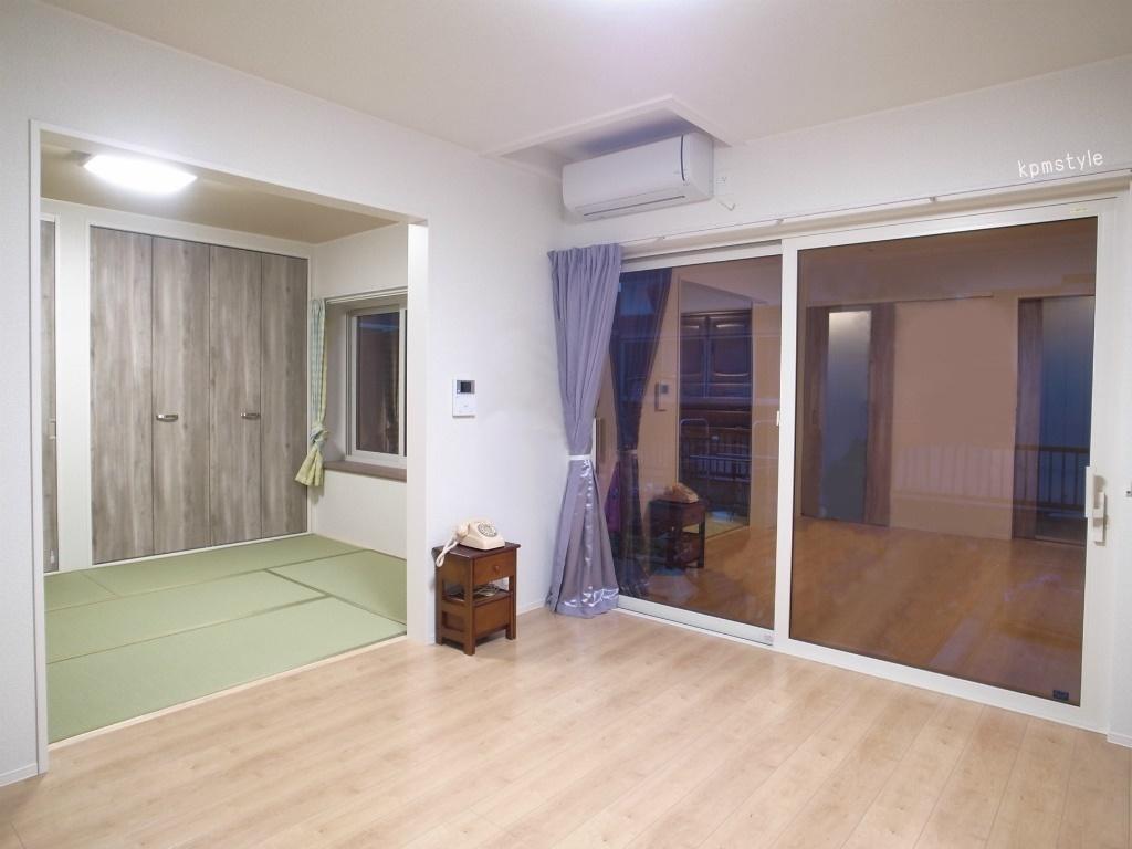 第2期フルリフォーム工事・続き間3部屋   (八戸市八太郎山)