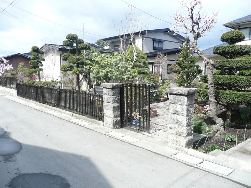 H様邸 アプローチ・門・フェンス4