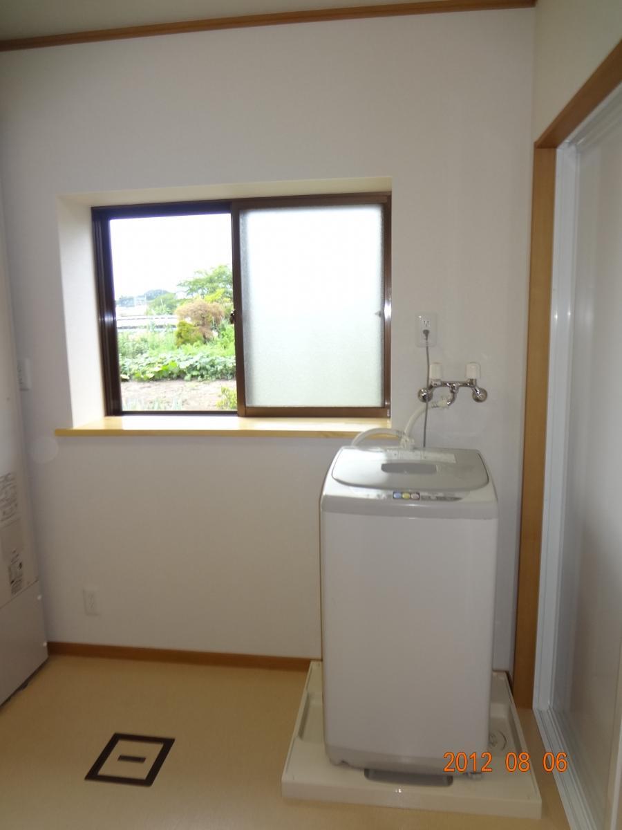 O様邸 洗面所、浴室リフォーム エコキュート3