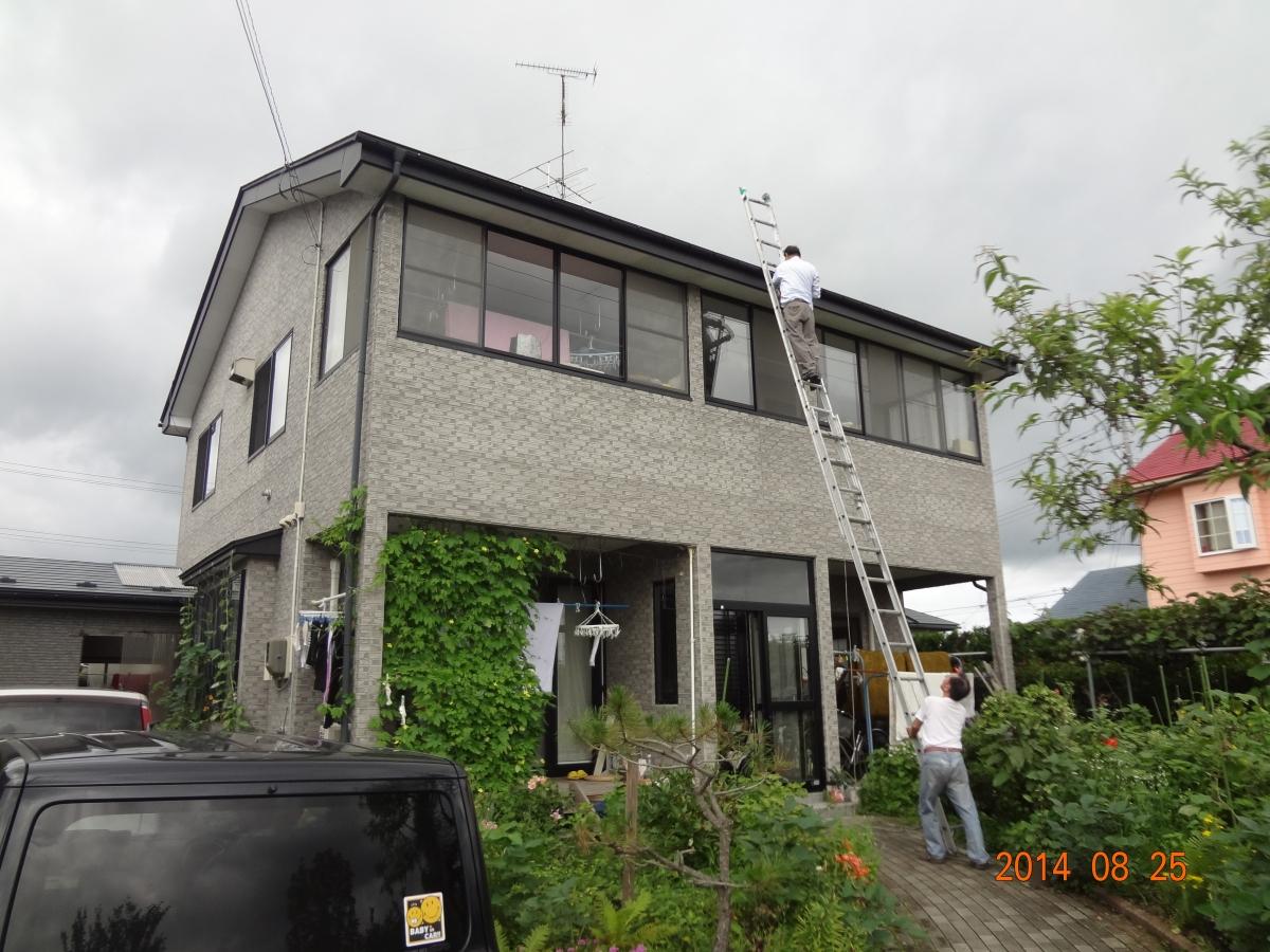 S様邸 外壁塗装工事3