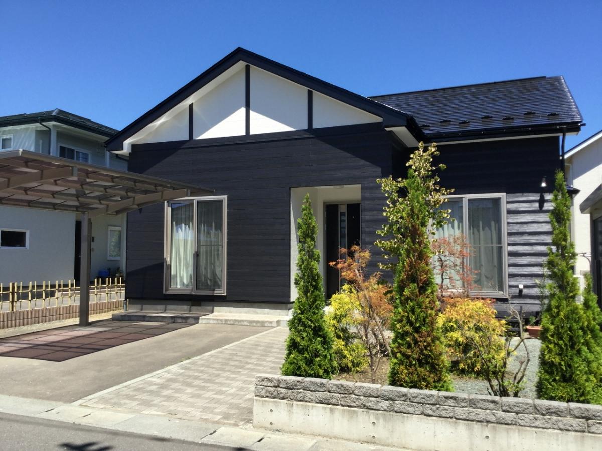 U様邸 屋根外壁塗装工事1