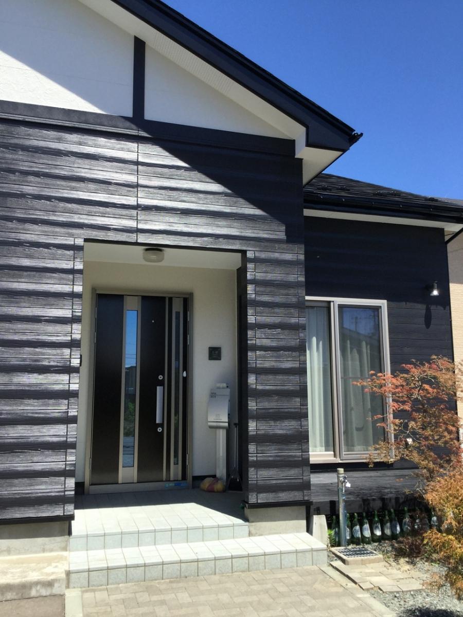 U様邸 屋根外壁塗装工事2