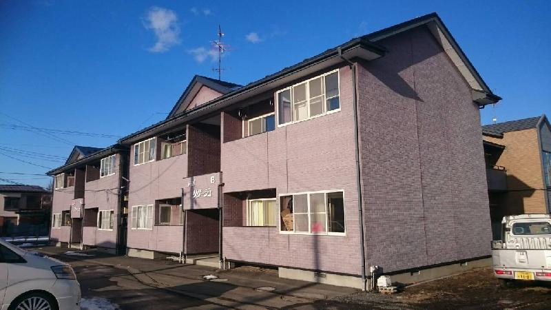 桔梗野AP2棟の外壁塗装!!2
